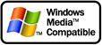 Windows Media Compatible